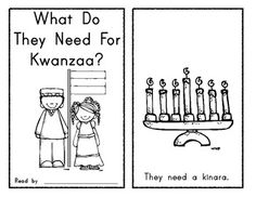 What Do They Need for Kwanzaa? Emergent Reader - Holidays Around the World. $