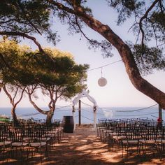 Gorgeous wedding setting on the island of Vis in Croatia. Photo by Fort George Croatia