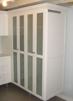 Laundry Room Storage Frosted Glass Doors California Closets | Twin Cities | California  Closets