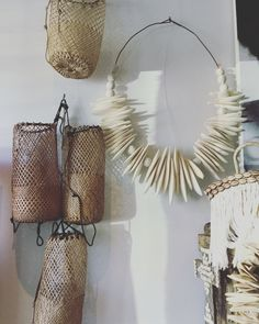 Amazing Cuttlefish Wall sculptures locally made and Borneo backpacks. All at Ingrid & Sooshii. 143 Pittwater Rd, Manly. 0299777778.