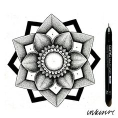 mandala inspired by @emmaleelam and @lunachrissy's (instagram) collaboration and black stabbath's (hannah pixie sykes) colour therapy