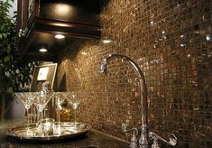 Glass mosaic to rustic stacked stone, changing your backsplash will is one easy method of modernizing your kitchen without emptying your entire bank account.