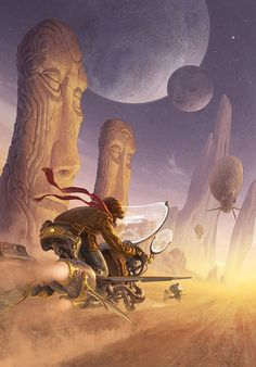 Behold! Fantasy art from Antonio Javier Caparo – steampunky and surreal