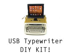 DIY USB Typewriter Conversion Kit. By usbtypewriter, Etsy.