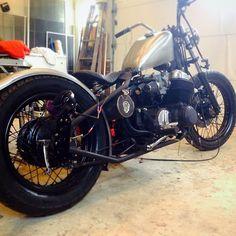 Honda cb750 | Bobber Inspiration - Bobbers and Custom Motorcycles September 2014