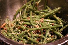 Keto Roasted Pecan Green Beans | Ruled Me