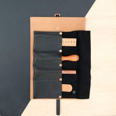 Alfie Six - Utility Roll - Leathercraft - tools - Handcraft - Handmade in England - Design - Technology - leather fashion
