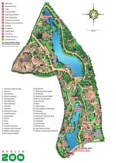57 Best Zoo Maps images