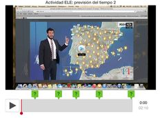 Easily create beautiful interactive video lessons for your students you can integrate right into your LMS. Weather, Videos, Weather Forecast, Activities, Fle, Video Clip