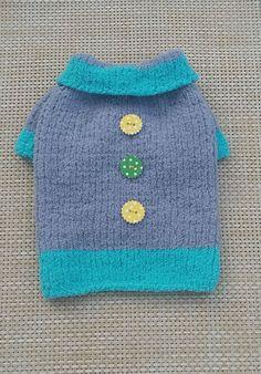 Fancy Pet Clothing Hand Knit Pet Clothes Warm от LyudmilaHandmade