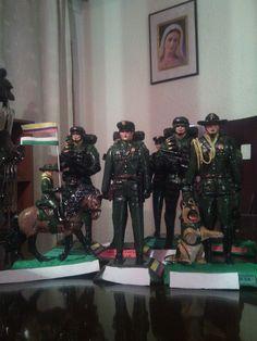 Figuras policiales wtssp 3152305093 Samurai, Art, June, Military, Art Background, Kunst, Performing Arts, Samurai Warrior, Art Education Resources