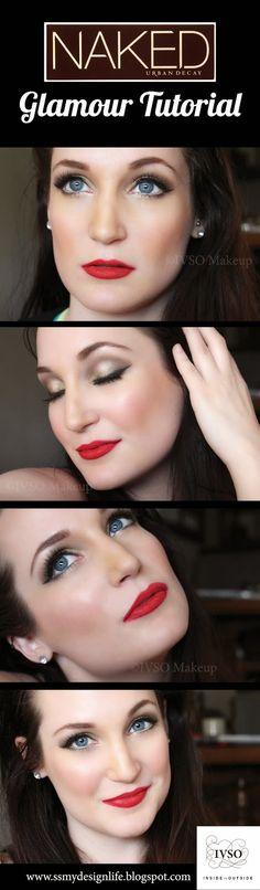 Naked Palette Tutorial - Hollywood Glamour IVSO Makeup  More tutorials at www.ssmydesignlife.blogspot.ca