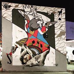 Same84 & Apset 2016 for SAF, Street Art Festival Thessaloniki, Greece, 2016