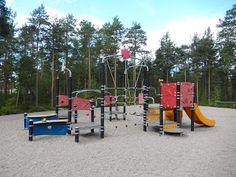 Otetaan hiekkalelut mukaan!: Kasteheinän leikkipuisto