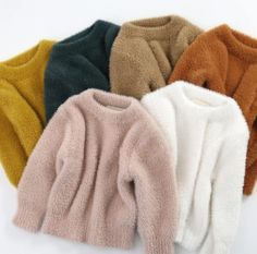 For Sale - Girls' Sweaters Winter Wear New Style Imitation Mink Jacket Sweater Year Old Baby Warm Coat Kids Sweaters Mink Jacket, Sweater Jacket, Kids Outfits Girls, Girl Outfits, 3 Years Old Baby, Baby Boy Knitting Patterns, Climbing Clothes, Kids Coats, One Piece Suit