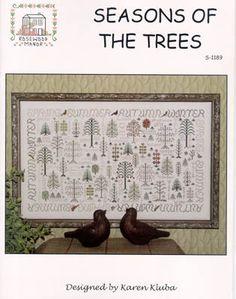 Seasons of The Trees - Cross Stitch Pattern