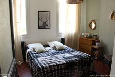 Une chambre aux teintes douces