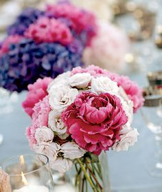 Pink and White Wedding Bouquet | Wedding Flowers