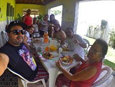 Aniversário de Andreza, almoço com esse povo bonito e cheiro.