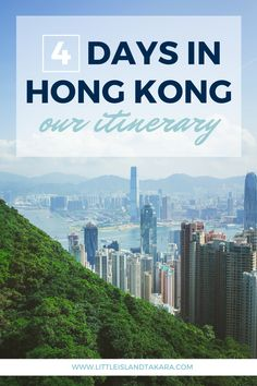4 days in Hong Kong: Our Itinerary