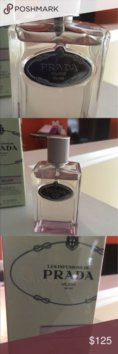 PRADA Les Infusions de Prada - Oeillet parfum 3.4 Fl. Oz. Less than 1/4 used, nice fragrance , retails $165 Prada Other