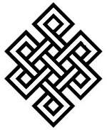 Noeud Sans Fin                                                       … Tattoo Karma, Simbolos Tattoo, Body Art Tattoos, Tatoos, Hindu Tattoos, Ganesha Tattoo, Lotus Tattoo, Samoan Tattoo, Polynesian Tattoos