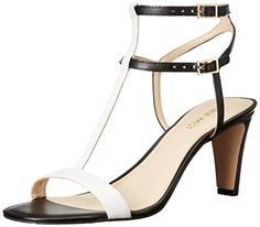 Nine West Women's Dacey Synthetic Heeled Sandal