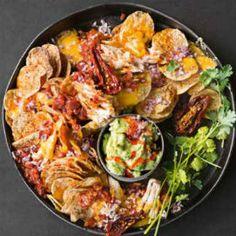 Roast+chicken+chipotle+nachos+