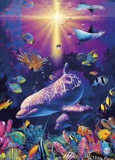 2019 New Dream Wall Decor Animals Dolphin Diy Diamond Painting Kits UK Sea Life Art, Sea Art, Ocean Life, Dolphin Painting, Dolphin Art, Photo Dauphin, Animals Tattoo, Dolphin Photos, Dolphins Tattoo