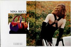 ☆ Shalom Harlow | Photography by Dominique Issermann | For Nina Ricci Campaign | Fall 1992 ☆ #Shalom_Harlow #Dominique_Issermann #Nina_Ricci #1992
