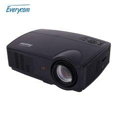 Everycom X9 LED HD Projector 3500 Lumens Beamer 1280*800 LCD Projector TV Full HD Video Home Theater Multimedia HDMI/VGA/ AV/ATV