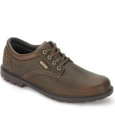 dec0b6d47127 Rockport Rugged Bucks Waterproof Shoes   Reviews - All Men s Shoes - Men -  Macy s. Sko Til MændHerreskoPæne ...