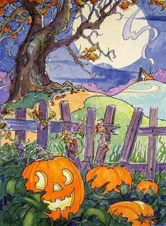 """""""A Storybook Halloween"""" by Alida Akers"""