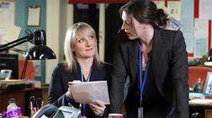 Scott & Bailey // Lesley Sharp (DC Janet Scott) & Suranne Jones (DC Rachel Bailey)