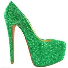929b5b216014 Christian Louboutins Daffodile 160mm Aurora Boreale Green Pumps Louboutin  Shoes Outlet