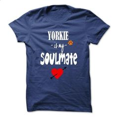 Limited Edition Yorkie is my Soulmate - #shirtless #green sweater. ORDER NOW => https://www.sunfrog.com/Pets/Limited-Edition-Yorkie-is-my-Soulmate-RoyalBlue-21059793-Guys.html?68278