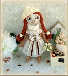 fabric soft doll Alison rag doll cloth doll мягкая тряпичная кукла Mother's Day текстильная кукла handmade doll ooak stuffed doll handmade doll ooak fabric doll soft doll rag doll cloth doll art doll stuffed doll Mother's Day 35.00 USD #goriani