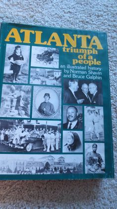 Atlanta Triumph of A People Hardcover with Jacket 0910719004   eBay