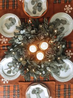 Simple yet timeless table settings for the holidays or Christmas dinner or holiday party. Holiday Tables, Holiday Parties, Rent Party, Event Venues, Best Part Of Me, Corporate Events, Special Events, Table Settings, Holidays