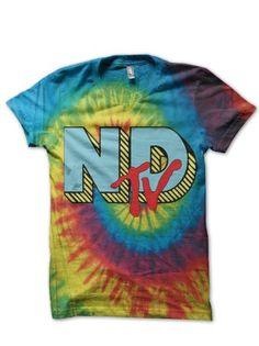 NDTV Rainbow Tie-Dye : Neck Deep