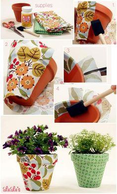 Façons Créatives de Décorer des Pots en Terre Cuite