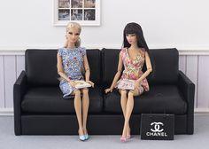 Barbie ropa y accesorios: Tutorial: sofá a escala 1:6