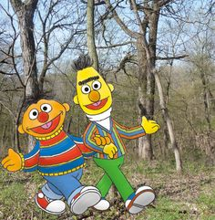 Walkaround Bert & Ernie will be appearing at Fontenelle Forest for the Nebraska Science Festival on April 26 & 27. Admission will be free for everyone on both days!