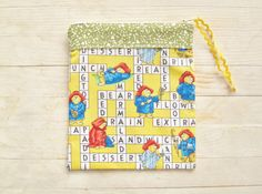 Pencil case cosmetic bag make-up pouch necessaire by poppyshome