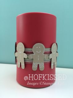 Hofkissed: Gingerbread Cookies! - Cookie Cutter Christmas, home decor, stampin'…