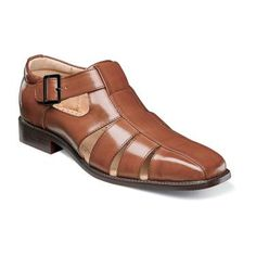 Stacy Adams Men's Calisto Fisherman Sandal Size: 13 M, Cognac Polyurethane Leather Sandals, Shoes Sandals, Dress Shoes, Mens Beach Wedding Attire, Fashion Shoes, Mens Fashion, Mens Clothing Styles, Men's Clothing, Men S Shoes