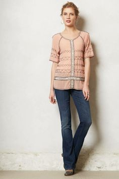 Anthropologie Mother Runaway Skinny Flare Jeans on shopstyle.com