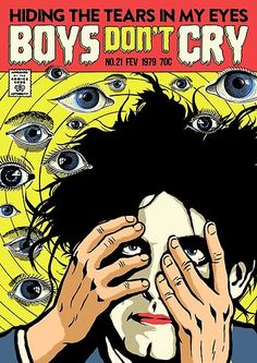 Rock Posters, Concert Posters, Movie Posters, Rock Vintage, Punk Poster, Boys Don't Cry, Iphone App, Ios App, Robert Smith