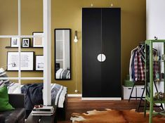 IKEA offers everything from living room furniture to mattresses and bedroom furniture so that you can design your life at home. Check out our furniture and home furnishings! Wardrobe Furniture, Ikea Furniture, Bedroom Furniture, Ikea Bedroom Design, Bedroom Layouts, Bedroom Colors, Ikea 2018, Glass Cabinet Doors, Glass Door
