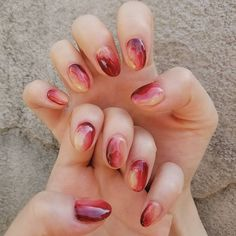 In order to provide some inspirations for your winter nail art designs, we have specially collected 72 winter nails red colors for your short nail designs. Funky Nails, Cute Nails, Pretty Nails, May Nails, Hair And Nails, Fabulous Nails, Perfect Nails, Classic Nails, Short Nails Art